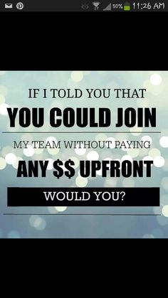 Completely free to sign up to promote. Free website. No monthly quotas. Awesome products! Why wait? www.morrganfae.le-vel.com