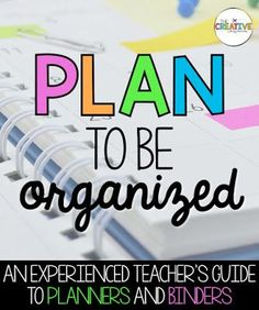 Be an organized teacher this year with the best lesson planner and teacher binder tips.