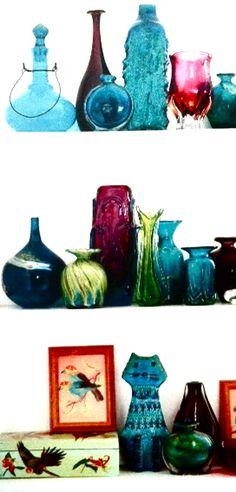 Vintage 1960/1970's glassware