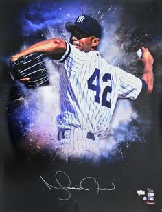 c9a92a6882d ... New York Yankees Memorabilia by SportsMemorabilia.com. Signed Mariano  Rivera Photo - 20x24  10 42 Fanatics COA  A307671
