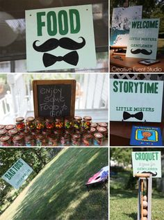 Little Mister Mustache Bash First Birthday Party Ideas