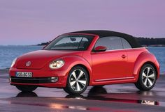 VW Beetle Convertible 2013