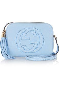 Gucci Soho nubuck shoulder bag | NET-A-PORTER