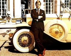 Robert Redford in The Great Gatsby... sizzle!!