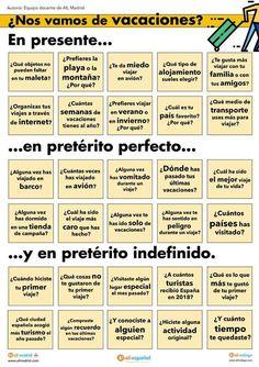 Spanish Grammar, Spanish Vocabulary, Teaching Spanish, Spanish Language, Spanish Classroom Activities, Spanish Lessons For Kids, Spanish Worksheets, English Exercises, How To Speak Spanish