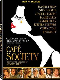 Woody Allen's CAFÉ SOCIETY follows Bobby (Jesse Eisenberg) from New York to Hollywood, where he falls in love, and back to New York, where he is swept up in high society night life.