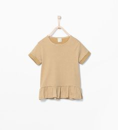 Frilled striped T-shirt-View all-T-shirts-Girl (3-14 years)-KIDS | ZARA United States