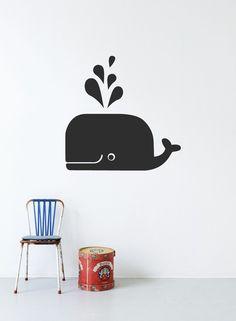 Ferm Living Whale Wallsticker