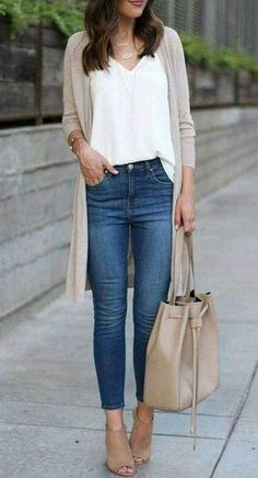 Spring Outfits for Women That Really Casual and Cute Spring Work Outfit