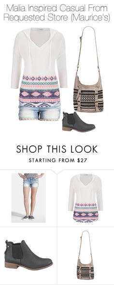"""""""Malia Inspired Casual From Requested Store (Maurice's)"""" by marisaborek ❤ liked on Polyvore featuring maurices"""