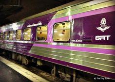 Night train from Bangkok to Surath Thani