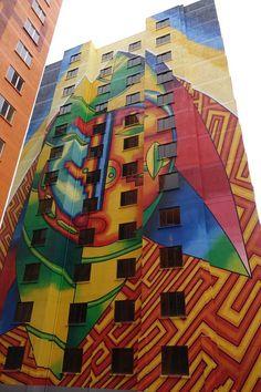 Street art en La Paz Bolivia  Graffitis y murales  Pinterest