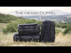 The HEXAD Duffel: The Ultimate Carryall and Travel Companion by WANDRD — Kickstarter. More functional than a traditional duffel. More versatile than a dedicated travel bag. Travel Luggage, Travel Bags, Backpack Bags, Duffel Bags, Watches, Backpacks, Handbags, Photography Equipment, Photography Tips