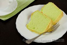 Pandan Chiffon Cake from Christine's Recipes