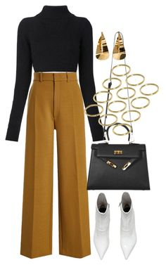 """Untitled #4353"" by lily-tubman ❤ liked on Polyvore featuring Balmain, Joseph and ASOS"