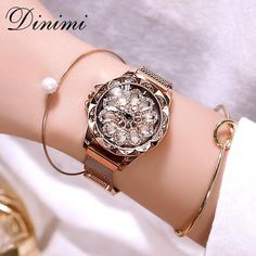 Dimini magnetic women watches lady watch mesh belt magnetic strap dress watch luxury quartz wrist watches gifts from touchy style outfit accessories rose gold cute phone cases casual shoes cool backpack charm jewelry simple cheap watches. Fancy Watches, Simple Watches, Cute Watches, Expensive Watches, Cheap Watches, Elegant Watches, Stylish Watches, Beautiful Watches, Wrist Watches