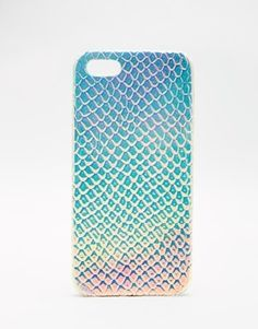 ASOS Holographic Snake iPhone 5 Case - pearl