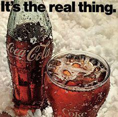 1971 Coca-Cola Ad // 1970's Coke Advertisement // It's the real thing ads // Coke Coca-Cola Ephemera