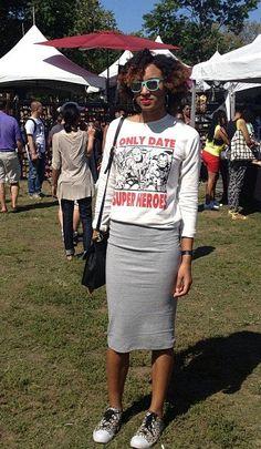 African Prints in Fashion: Festival Styles: AfroPunk in Brooklyn