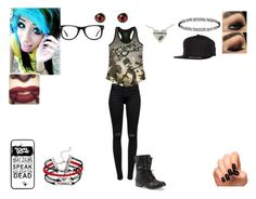 """""""My Chemical Romance #2"""" by haileybyars ❤ liked on Polyvore"""