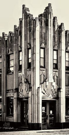 #ArtDeco | Salvation Army Building, Elgin, Illinois, 1930