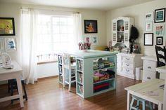 Craft Room Design Ideas: Craft Room Design Ideas White Window Design – Vizimac