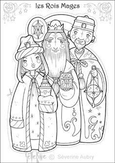 Coloriage Roi Mage - From the thousands of photos on-line regarding Coloriage Roi Mage, we selects the very best selec Christmas Drawing, Christmas Love, Christmas Pictures, Christmas Colors, Christmas Crafts, Colouring Pages, Free Coloring, Adult Coloring, Coloring Books