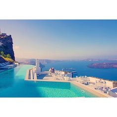 Gray Malin Grace Hotel Pool Photographs ($199) ❤ liked on Polyvore
