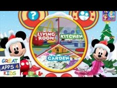 Mickey Mouse Clubhouse Color And Play Christmas Theme