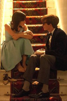 The Theory of Everything, Jane and Stephen (Felicity Jones and Eddie Redmayne)