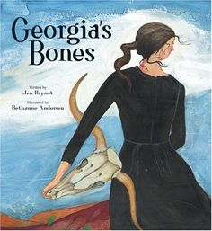 Georgia's Bones by Jen Bryant about artist Georgia O'Keefe is a great book to add to the art room library! Diego Rivera, Art Books For Kids, Childrens Books, Kid Books, Art Children, Henri Matisse, Kandinsky, Pablo Picasso, Andy Warhol
