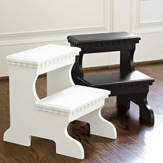 Bailey Step Stool traditional bar stools and counter stools