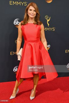 Actress Roma Downey attends the 68th Annual Primetime Emmy Awards at Microsoft Theater on September 18, 2016 in Los Angeles, California.