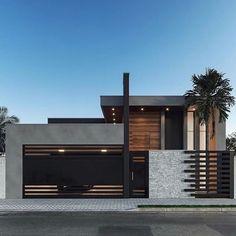 Modern Villa Design, Modern Exterior House Designs, Dream House Exterior, Exterior Design, House Gate Design, Bungalow House Design, House Front Design, Cavo Tagoo Mykonos, Modern House Facades