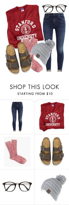 """cozy day"" by jiggle207 on Polyvore featuring Birkenstock"
