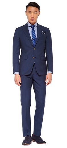 074f134bffa3 There s a fine line between deep indigo and navy. That s where the Indigo  Fineline Suit