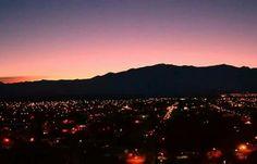 Chilecito, provincia de La Rioja #ArgentinaDeNoche La belleza de mi país.