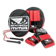 The Bad Boy MMA Starter Kit is a great gift that is only available to get at KarateMart.com!