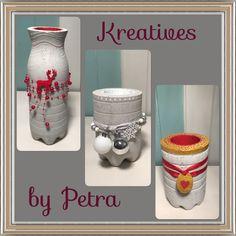 Betonteelichter  kreativesbypetra Petra, Jar, Home Decor, Creative, Homemade Home Decor, Jars, Decoration Home, Glass, Interior Decorating