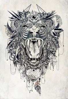 Lion by Feline Zegers