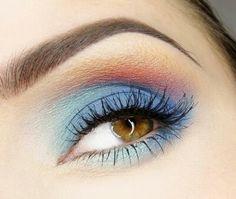 Sunset eyes for summer♡