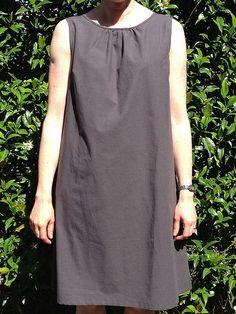 Dress A from Japanese pattern book, Stylish Dress Book 1