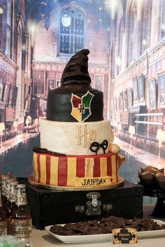 Wow!! This Harry Potter cake is amazing!! See more party ideas and share yours at CatchMyParty.com