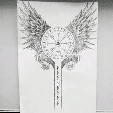 Resultado de imagen para tatuagem valquiria nordica