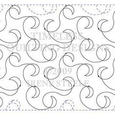 FLIRTATIOUS SM | Machine Quilting Design | Digital | Timeless Quilting