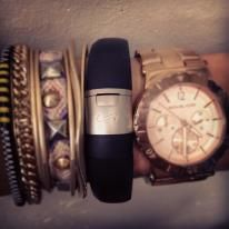 Nike+ Arm Party. How do you wear yours? #armparty #nikearmparty #fuelband #nike