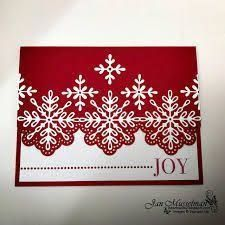 2017 Holiday Catalog - Swirly Snowflakes Thinlits - Snowflake Sentiments - Cheers to the Year - SUO Challenge Diy Christmas Snowflakes, Christmas Cards 2017, Snowflake Cards, Homemade Christmas Cards, Stampin Up Christmas, Xmas Cards, Homemade Cards, Holiday Cards, Christmas Diy