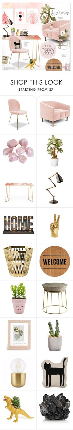 #thecollection by justlovedesign on Polyvore featuring interior, interiors, interior design, home, home decor, interior decorating, DENY Designs, Andrew Martin, Cyan Design and Holly's House