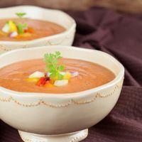 soep van rode bonen met gember