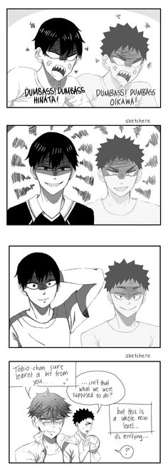 kageyama's sensei ~from tumblr